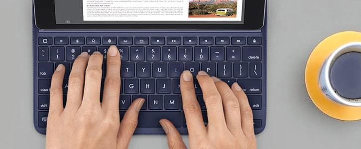 Logitech Create iPad Pro 9.7 inch Backlit Keyboard Case - Black