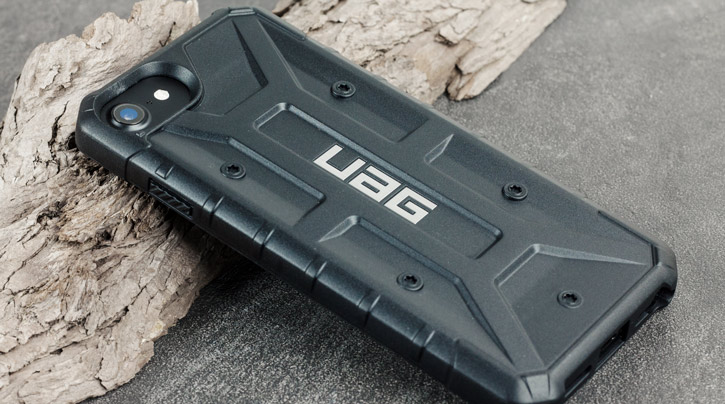 UAG Pathfinder iPhone 7 Rugged Case - Black / Black