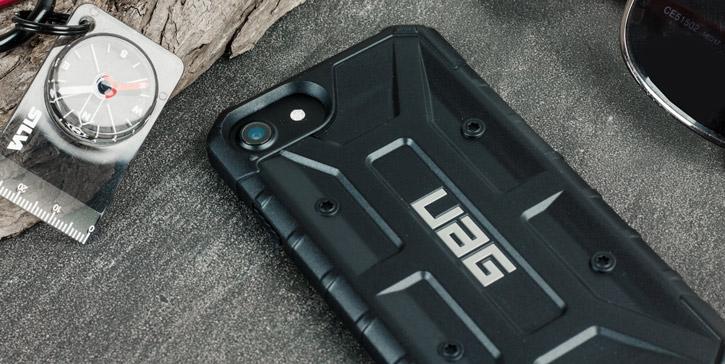 UAG Pathfinder iPhone 7 Rugged Case - Black / Black