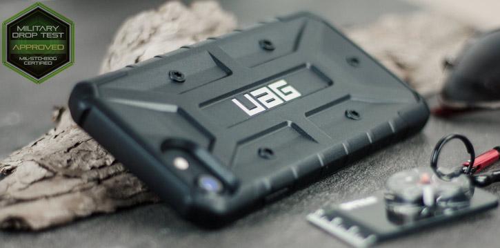 UAG Pathfinder iPhone 8 / 7 Rugged Case - Black / Black