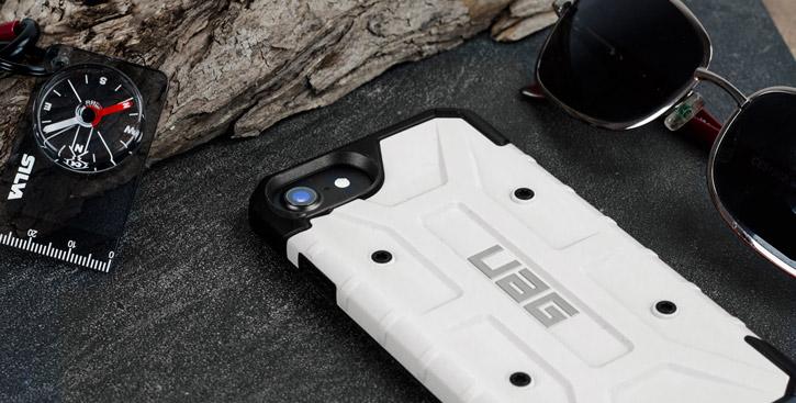 UAG Pathfinder iPhone 7 Rugged Case - White / Black