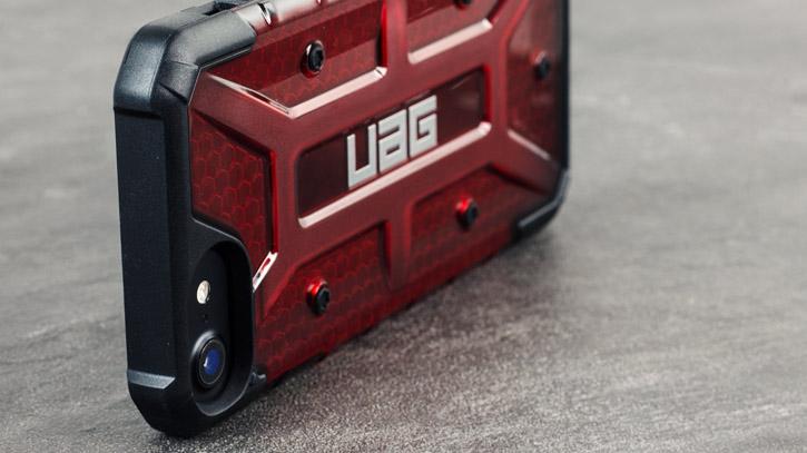 UAG Plasma iPhone 7 Protective Case - Magma / Black