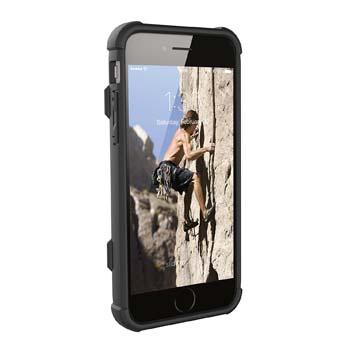 UAG Trooper iPhone 8 / 7 Protective Wallet Case - Black