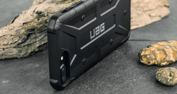 UAG Pathfinder iPhone 7 Plus Rugged Case - Black / Black