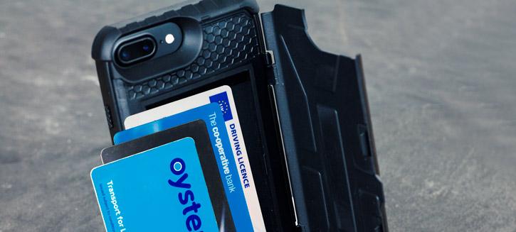 UAG Trooper iPhone 7 Plus Protective Wallet Case - Black