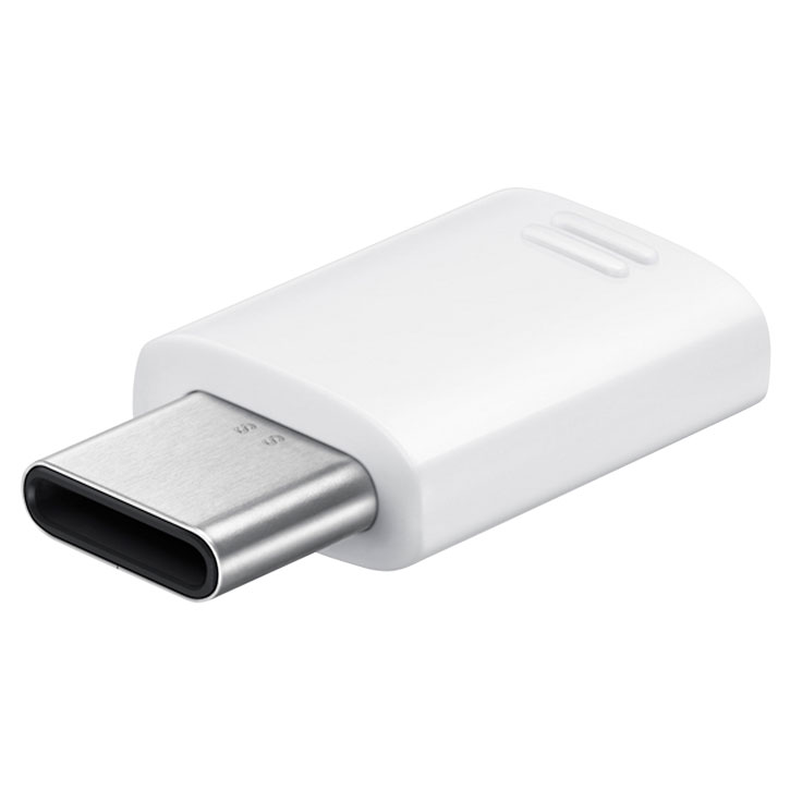 Official Samsung Micro USB to USB C Adapter - White