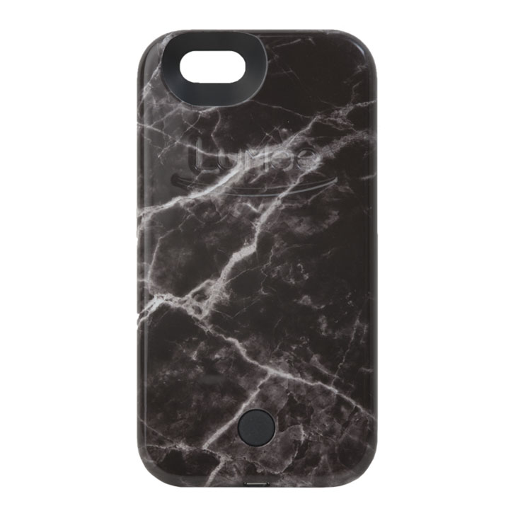 LuMee Light Up Illuminated iPhone 6S / 6 Case - Black Marble