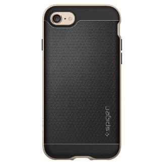 Spigen Neo Hybrid iPhone 7 Case - Champagne Gold