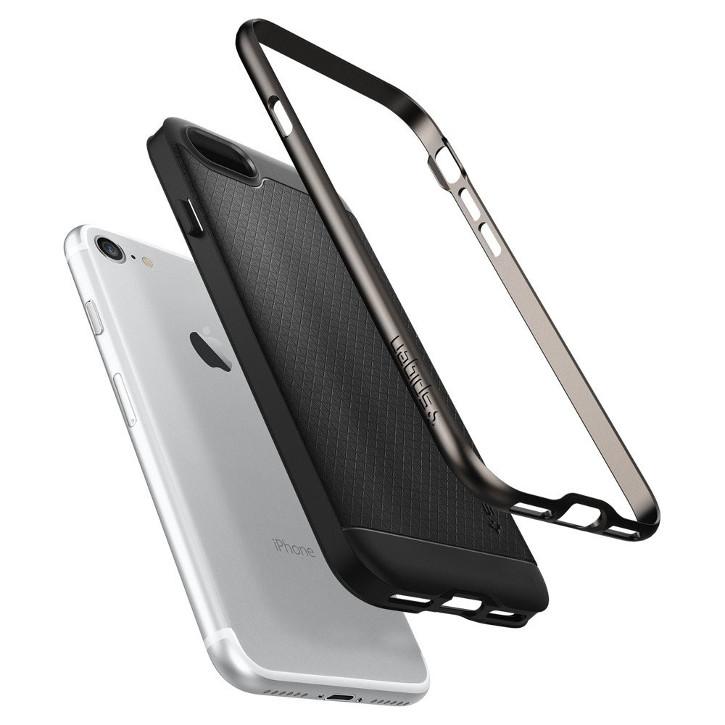 Spigen Neo Hybrid iPhone 7 Case - Gun Metal