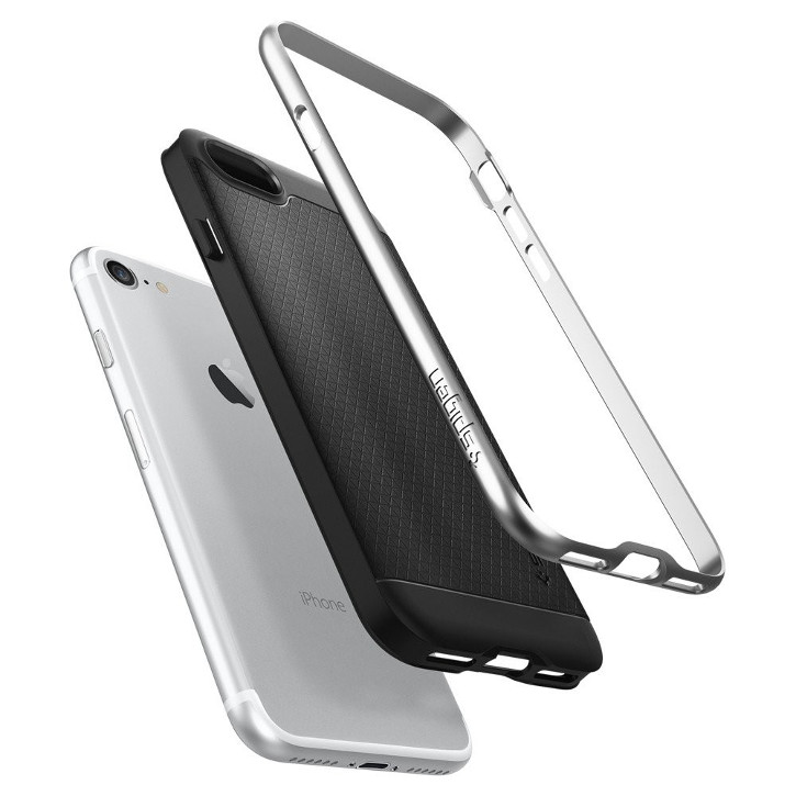Spigen Neo Hybrid iPhone 7 Case - Satin Silver
