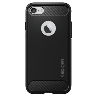 Spigen Rugged Armor iPhone 7 Case - Black