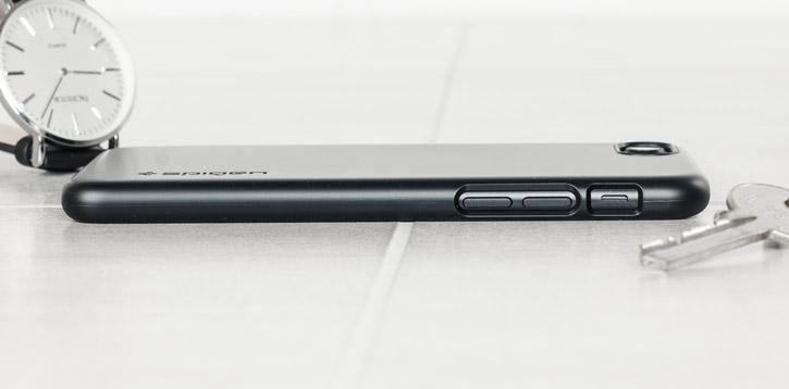 Spigen Thin Fit iPhone 7 Shell Case - Black