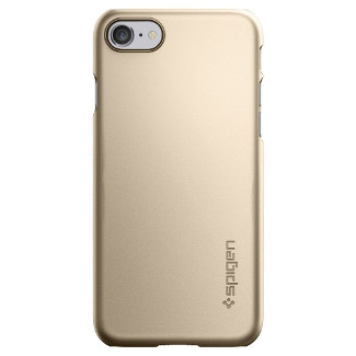 Spigen Thin Fit iPhone 7 Shell Case - Gold