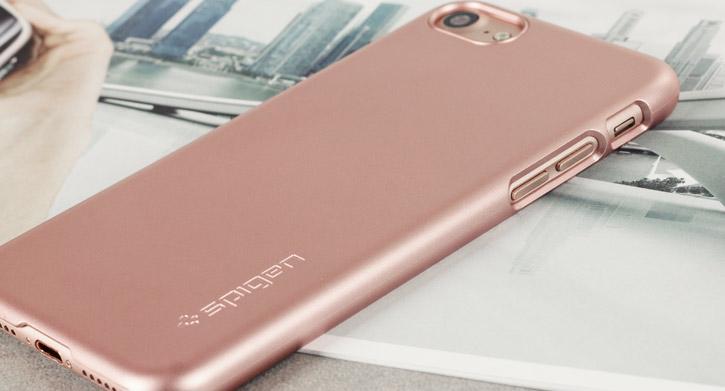 Spigen Thin Fit iPhone 7 Shell Case - Rose Gold