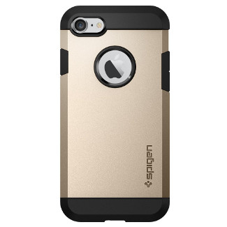 Spigen Tough Armor iPhone 7 Case - Champagne Gold