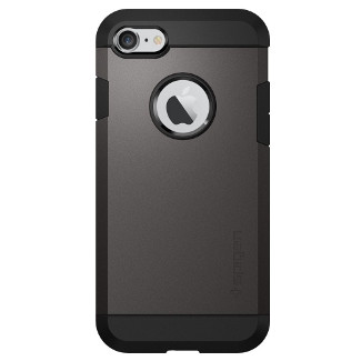 Spigen Tough Armor iPhone 7 Case - Gun Metal