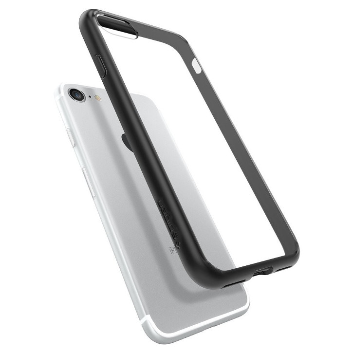 Spigen Ultra Hybrid iPhone 7 Bumper Case - Black