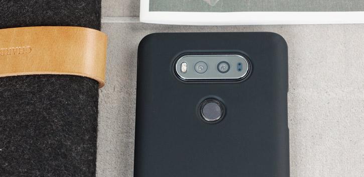 FlexiShield LG V20 Gel Case - Solid Black