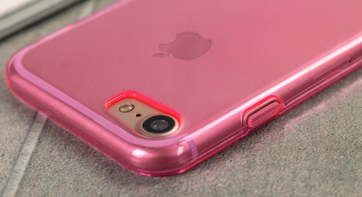 FlexiShield iPhone 7 Gel Case - Pink
