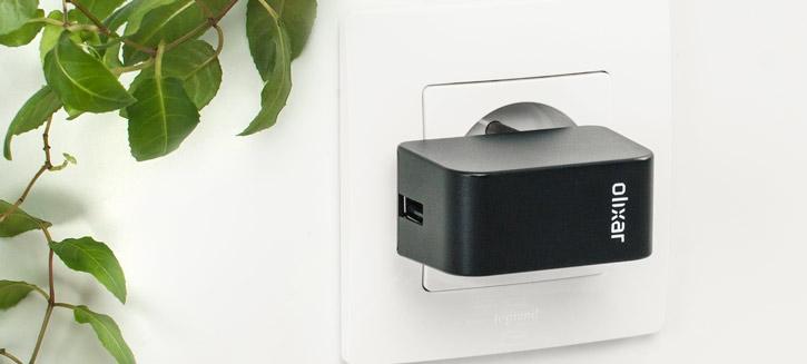 Olixar High Power 2.4A iPhone 5 Wall Charger - EU Mains