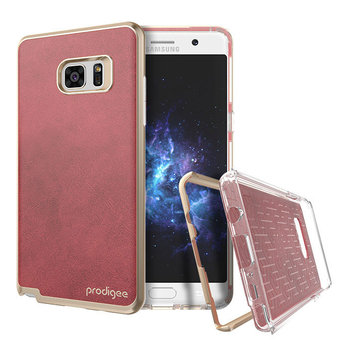 Prodigee Trim Samsung Galaxy Note 7 Case - Red