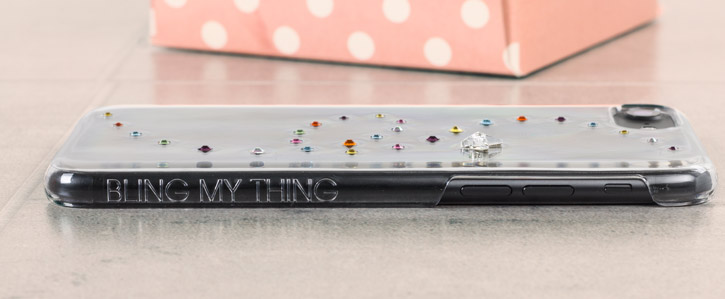 Bling My Thing Papillon iPhone 7 Case - Cotton Candy
