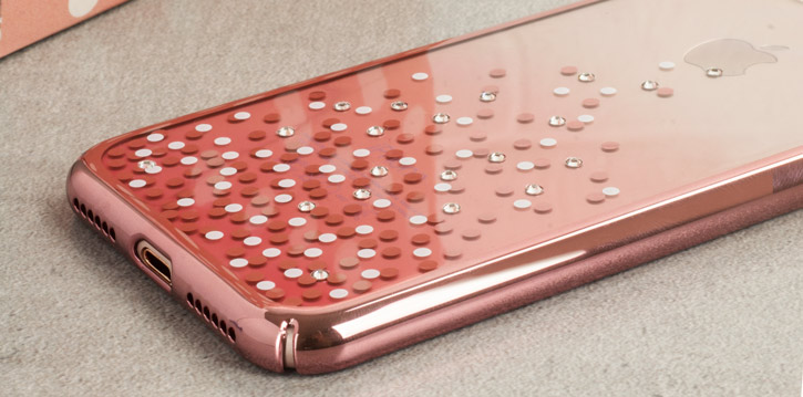 Unique Polka 360 Case iPhone 8 Case - Rose Gold