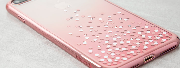 Unique Polka 360 Case iPhone 7 Case Plus - Rose Gold