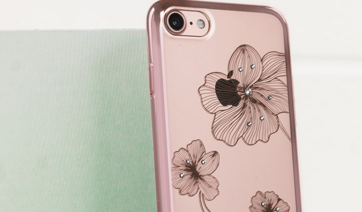 Crystal Flora 360 iPhone 7 Case - Rose Gold