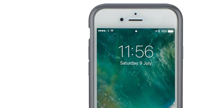Peli Adventurer iPhone 7 Tough Case - Clear / Dark Grey