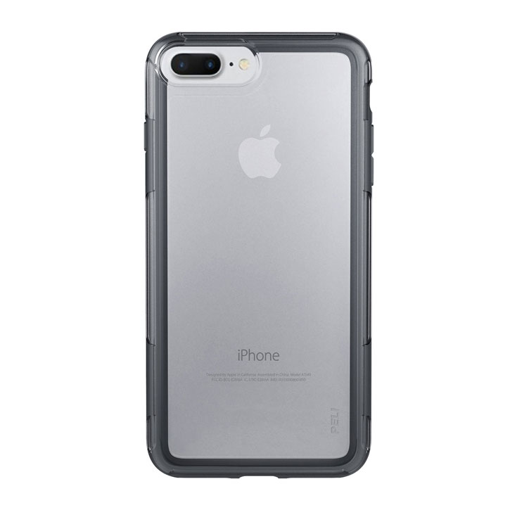Peli Adventurer iPhone 7 Plus Tough Case - Clear / Dark Grey