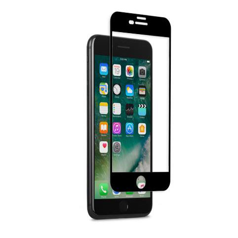Moshi IonGlass iPhone 7 Plus Glass Screen Protector - Black