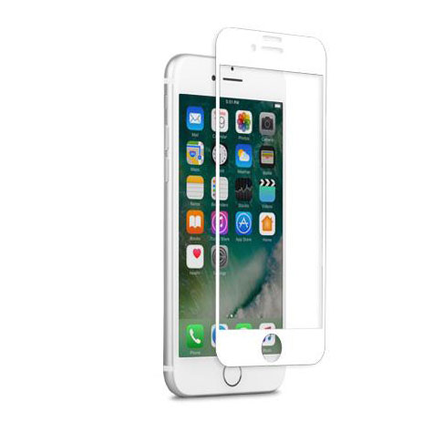 Moshi  IonGlass Glass Screen Protector For IPhone 7 - White