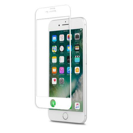Moshi IonGlass iPhone 7 Plus Glass Screen Protector - White