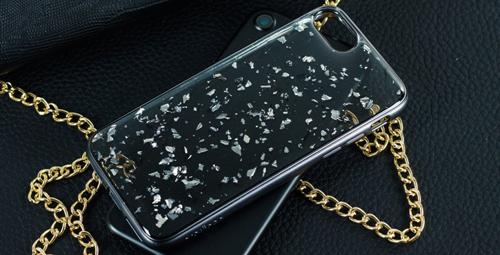 Prodigee Scene Treasure iPhone 7 Case - Platinum Sparkle