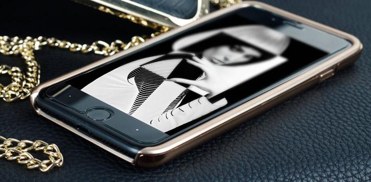 Prodigee Sparkle Fusion iPhone 7 Plus Glitter Case - Rose Gold