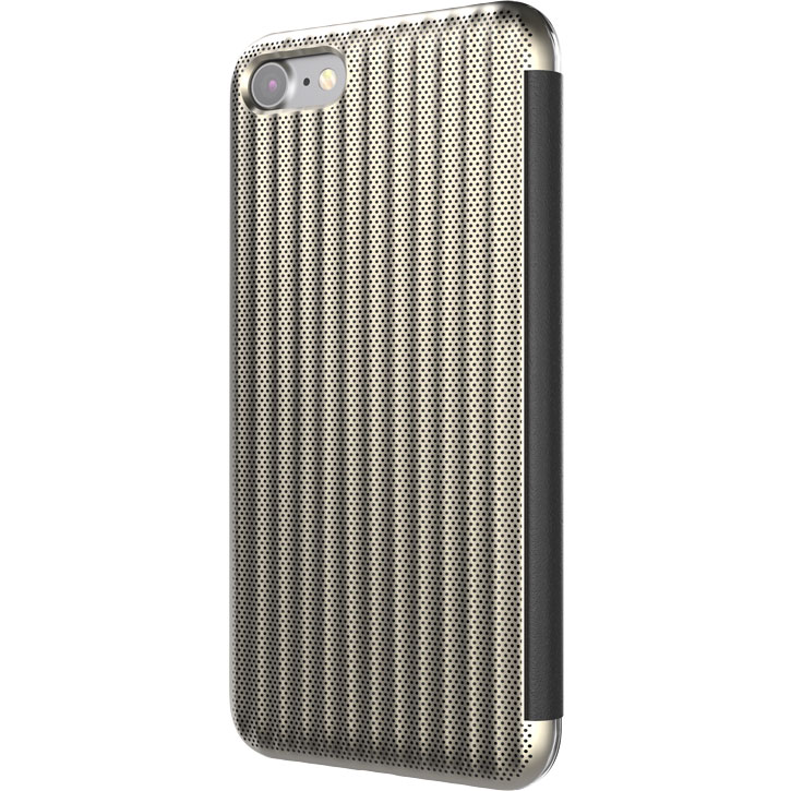 STIL Jet Set iPhone 7 Flip Case - Champagne Gold