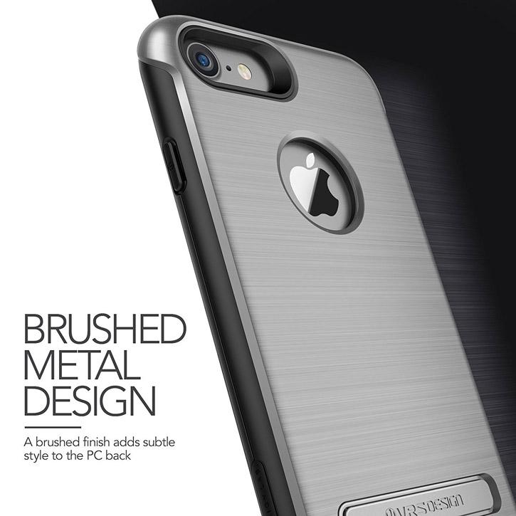 VRS Design Duo Guard iPhone 7 Case - Dark Silver
