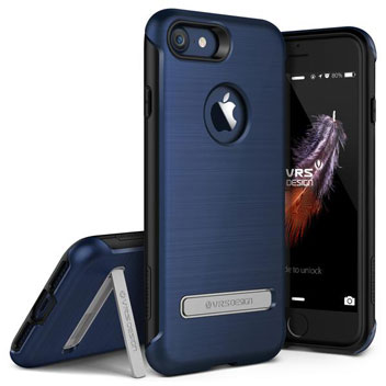 VRS Design Duo Guard iPhone 8 / 7 Case - Deep Blue