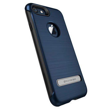 Coque iPhone 8 / 7 VRS Design Duo Guard – Bleue Corail