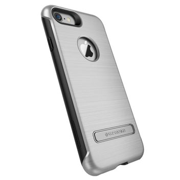 VRS Design Duo Guard iPhone 7 Case - Satin Silver