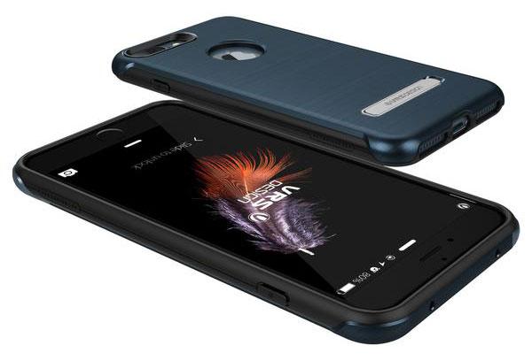 VRS Design Duo Guard iPhone 7 Plus Case - Steel Blue