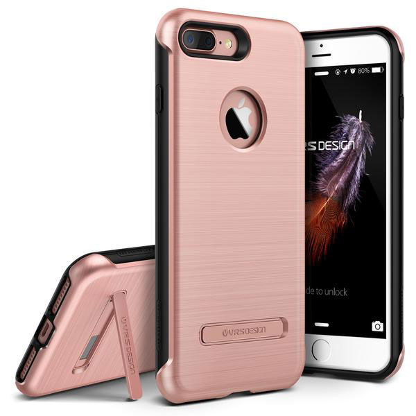 VRS Design Duo Guard iPhone 7 Plus Case - Rose Gold