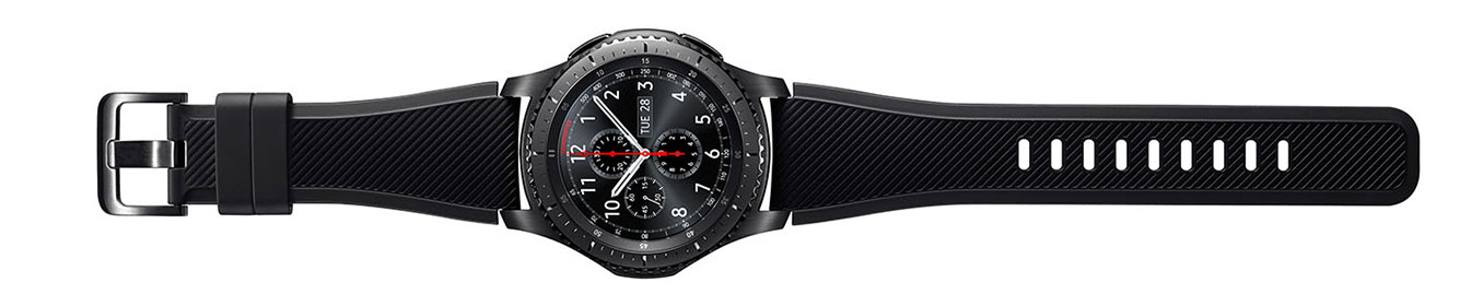 Smartwatch Samsung Gear S3 Frontier – Noire