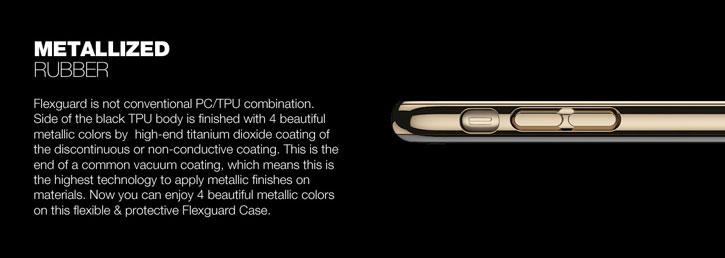 Patchworks Flexguard iPhone 7 Case - Silver
