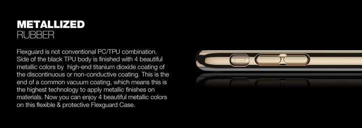 Patchworks Flexguard iPhone 8 / 7 Plus Case - Rose Gold
