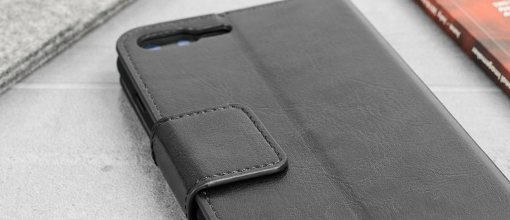 lixar Leather-Style iPhone 8 Plus / 7 Plus Wallet Stand Case - Black