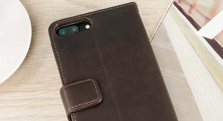 content olixar genuine leather iphone 7 plus wallet case brown you
