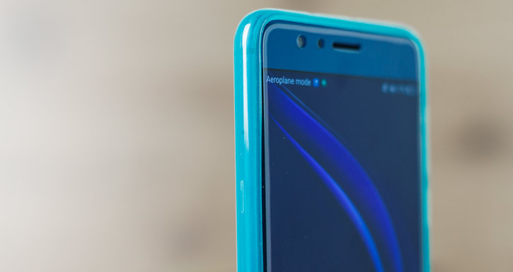 Olixar FlexiShield Huawei Honor 8 Gel Case - Blue