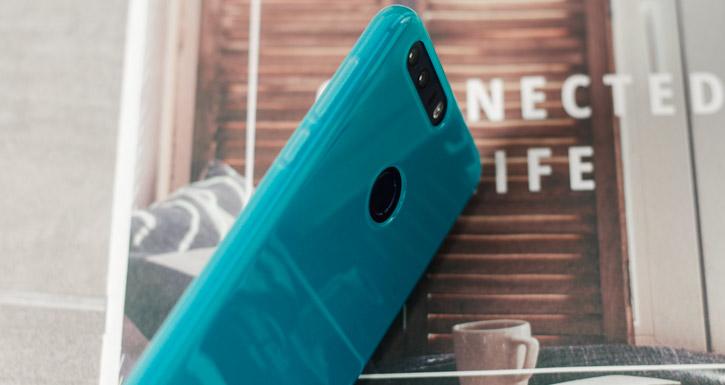Olixar FlexiShield Huawei Honor 8 Gel Case - Blue